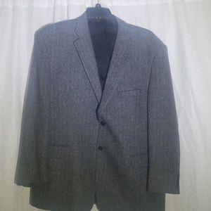 100% Wool Sportcoat 48R